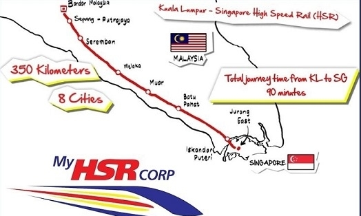 cabad19bed77a9 PM Mahathir   Malaysia exploring KL-Singapore HSR cost reduction ...